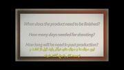 درس 8 تولید فیلم : وظایف تهیه کننده