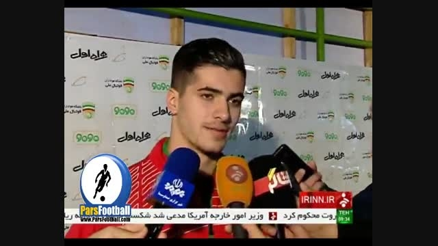کلکسیون اولین های بازی ایران و ترکمنستان