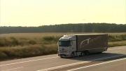 اولین کامیون هوشمند مرسدس بنز با رانندگی ن
