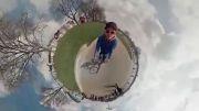 ضبط تصاویر مینیاتوری 360 درجه با دوربین GoPro
