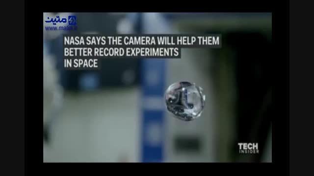 ثبت ویدئویی خارق العاده از آب در فضا توسط ناسا