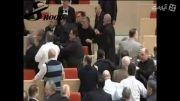 درگیری در پارلمان گرجستان