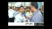 گزارش اخبار ساعت 14 شبکه اول از ورود تیم ملی وزنه برداری به کشور
