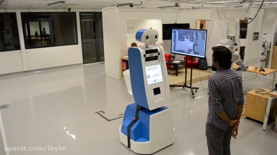SPENCER، رباتی برای راهنمایی افراد گمشده در فرودگاه