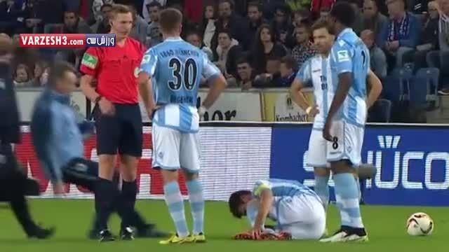 وقتی پزشک تیم بازیکن مصدوم میکنه!