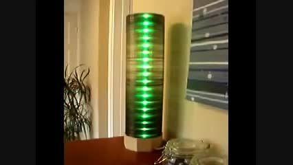 ساخت لامپ با استفاده از سی دی و تعدادی LED