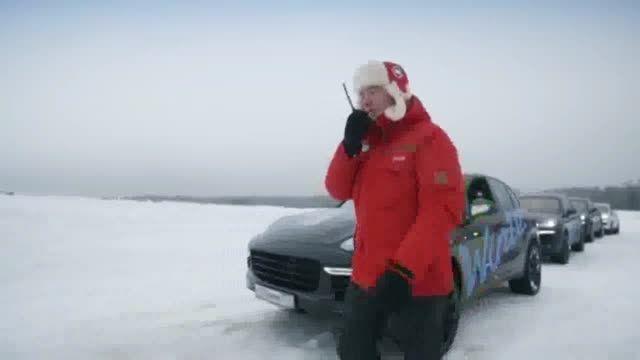 شهر یخی و رؤیایی پورشه