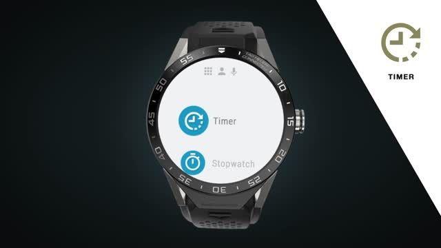 میکرو اپلیکیشن های ساعت هوشمند TAG Heuer Connected
