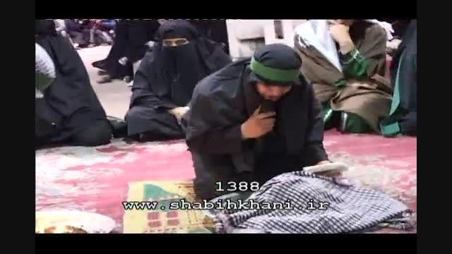 تعزیه حضرت رقیه سال 1388 : گفتگوی رقیه با سر امام