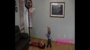 تصاویری دیدنی از کوچکترین بسکتبالیست جهان