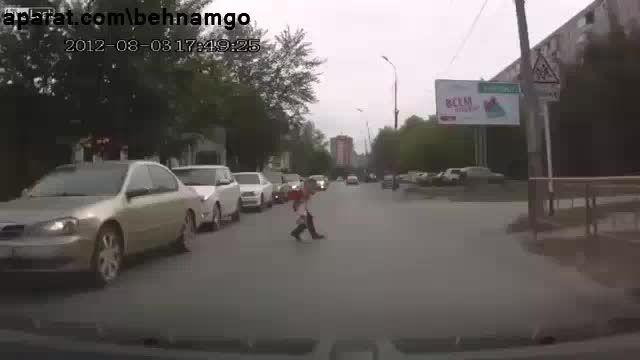 حادثه دردناک برای پسر بچه...!