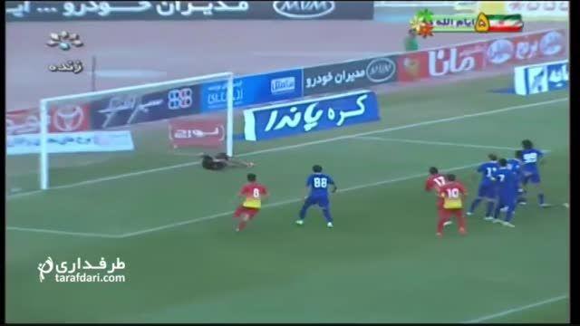 خلاصه بازی استقلال خوزستان 0-3 فولاد خوزستان
