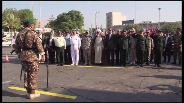 رژه نیروهای مسلح بمناسبت هفته دفاع مقدس