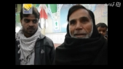 ابراز ارادت زائر پاکستانی نسبت به حضرت امام خمینی(س)