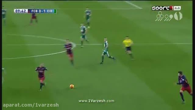 بارسلونا 3-1 ایبار