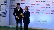 مراسم اهدای جایزه کفش طلایه کریستیانو رونالدو