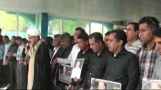 مراسم تشییع پیکر قهرمان آتش نشان شهید برکت جوذری