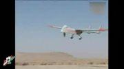 پرواز  پهپاد تهاجمی ایران بر فراز آسمان