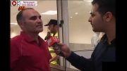 نود: درگیری های شدید عابدزاده وبازیکنان استقلال خوزستان
