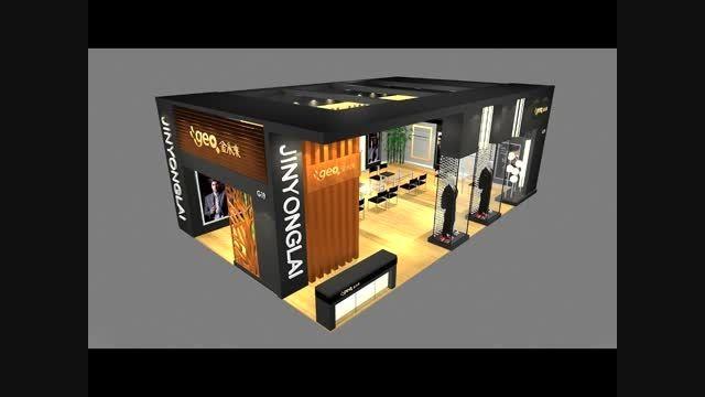 تصاویر طراحی غرفه های نمایشگاهی