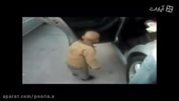 رقصیدن خنده دار و باحال بچه