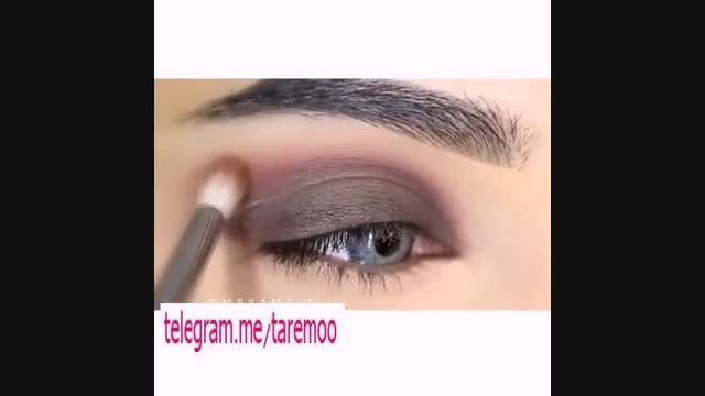 آموزش آرایش چشم زیبا را سایه در تارمو