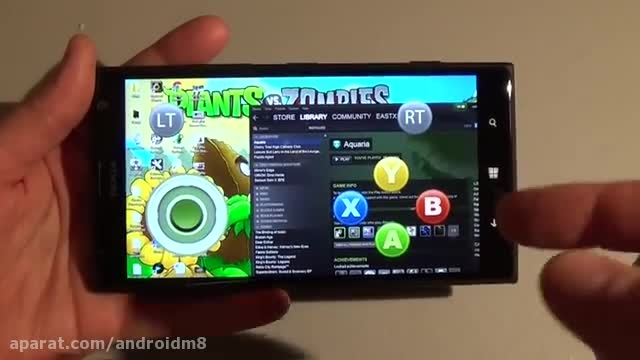اجرای بازیهای کامپیوتری بر روی گوشی اندروید