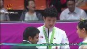 کشتی: مراسم اهدای مدال نقره به عزت الله اکبری