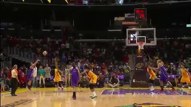 5 حرکت برتر هفته بسکتبال زنان WNBA