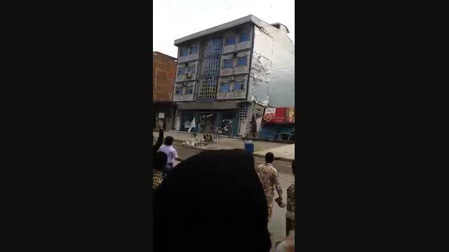 حوادث واقعی ازتخریب منازل در اثر سیل اخیر در شمال ایران