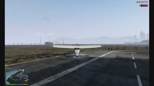 پایین پریدن از هواپیما...
