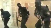 لحظه دستگیری تروریست های داعش توسط نیرو های ویژه عراق