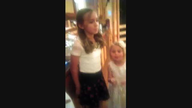 اجرای فوق العاده آهنگ ادل توسط دختربچه