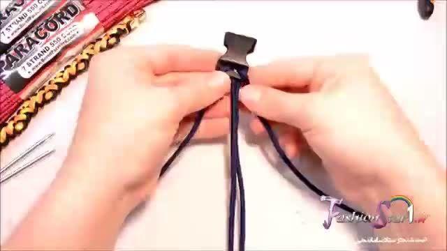 آموزش بافت دستبند XXX - سه ایکس