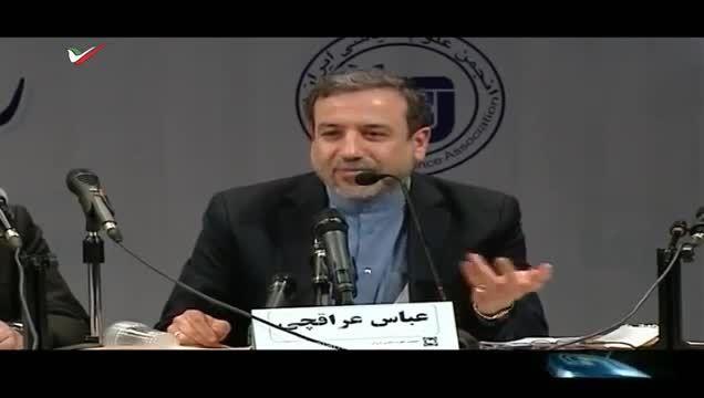 حاشیه مناظره داغ هسته ای با حضور عباس عراقچی در ایران