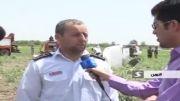 سقوط هواپیمای آموزشگاه معراج در قزوین EP-MGX