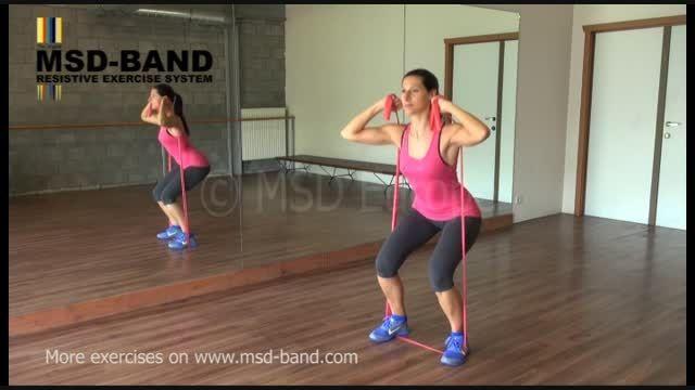 تمرین شماره6 -جهت تقویت عضلات پا