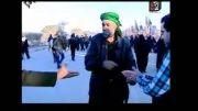 رهروان اربعین حسینی تا حرم عبدالعظیم حسنی (علیه السلام) 3