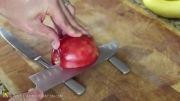 درست کردن قو با سیب بسیار متفاوت