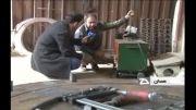 نخستین ربات لایروب ایرانی