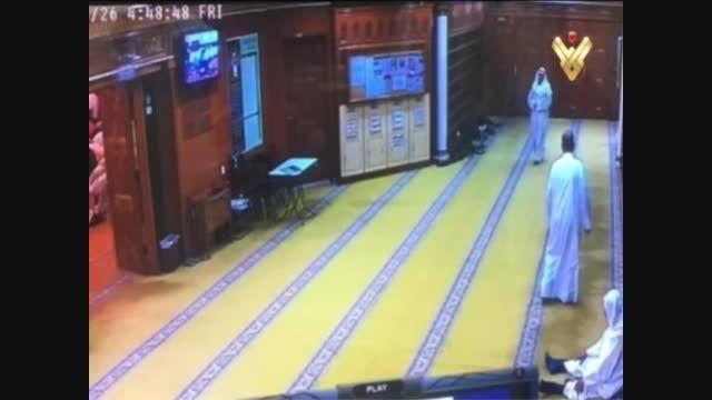 فیلم لحظه انفجار تروریستی در مسجد امام صادق(ع) کویت