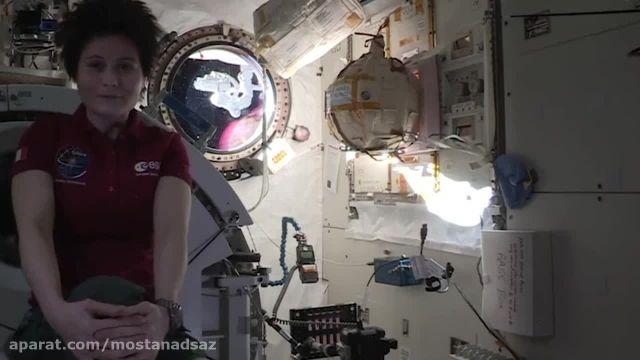 چشمک ستاره از فضا!