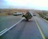 حرکات خطرناک راننده تو جاده