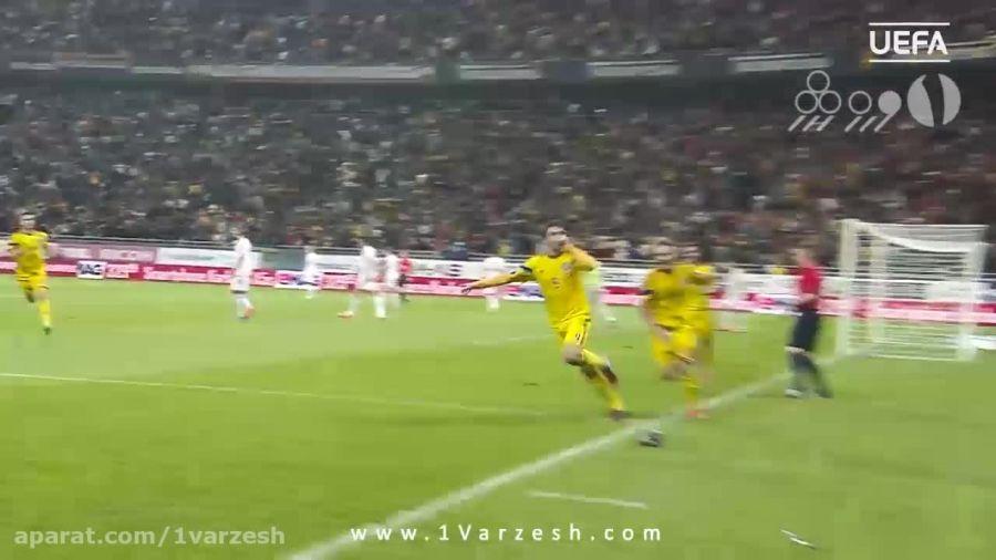 ۵ گل برتر تیم رومانی در مقدماتی یورو ۲۰۱۶