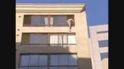 خودکشی {پریدن از بالای ساختمان بلند}