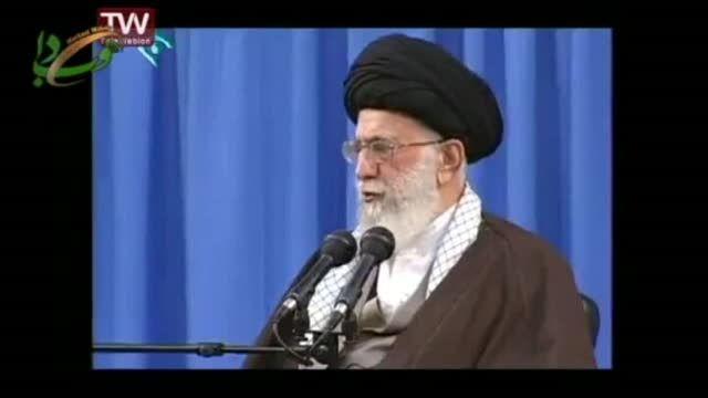 رهبر معظم انقلاب اسلامی در دیدار با رؤسای دانشگاهها