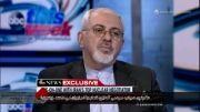 جواب ظریف درباره شعار مرگ بر آمریکا به خبرنگار آمریکایی
