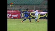 گل آرش برهانی در بازی استقلال گسترش فولاد در لیگ 13