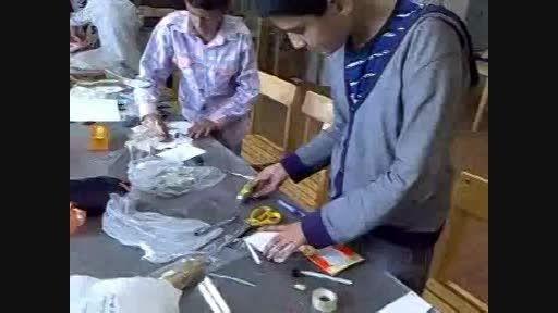 کارگاه بافت دانش آموزان تیزهوش یزد 1