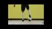 بلندکردن توپ به سبک رونالدینهو